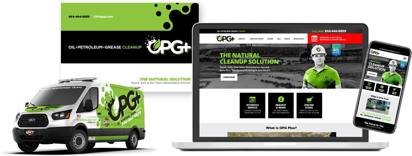 OPG+ The Natural Cleanup Solution