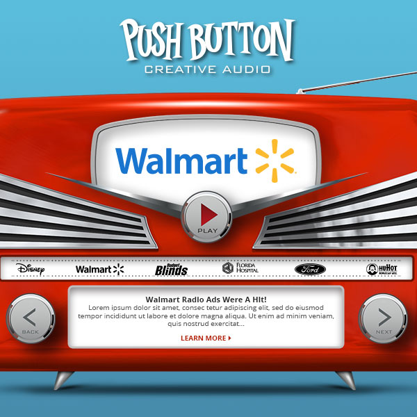 Push Button Productions Radio Slider Image